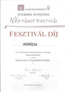 Fesztivaldij Vadrozsak 2015